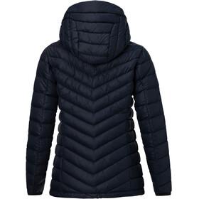 Peak Performance W's Frost Down Hooded Jacket Salute Blue